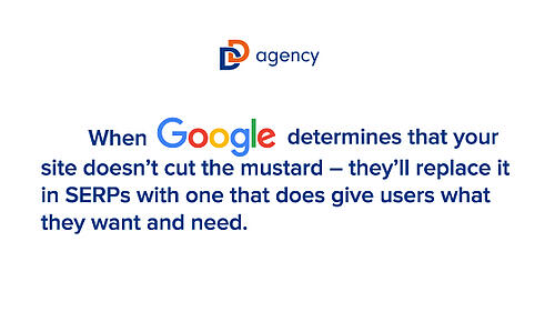 Google quote for SEO blog